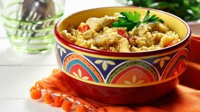 Le poulet biryani – Facile à préparer dans un plat coloré