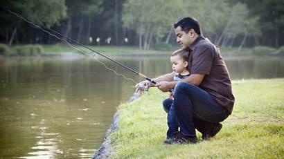 Père, fils, pêche