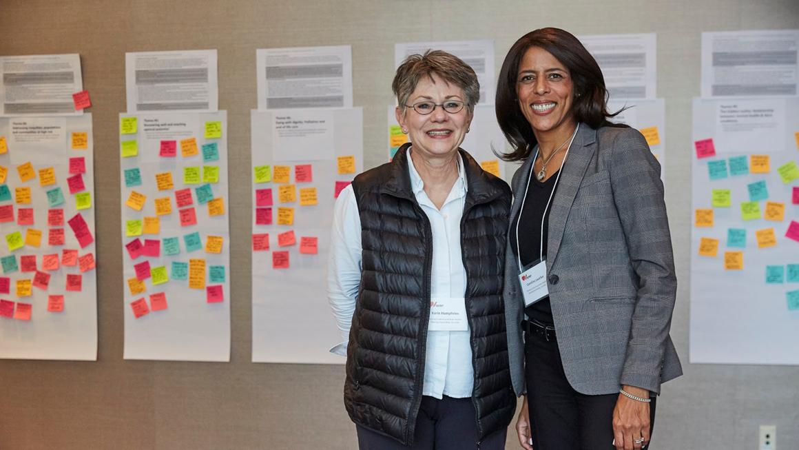 Dr. Karin Humphries and Caroline Lavallée