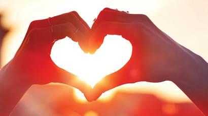 MyOF deux mains en forme de coeur