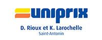 Pharmacie Uniprix Didier Rioux et Karine Larochelle inc. de Saint-Antonin