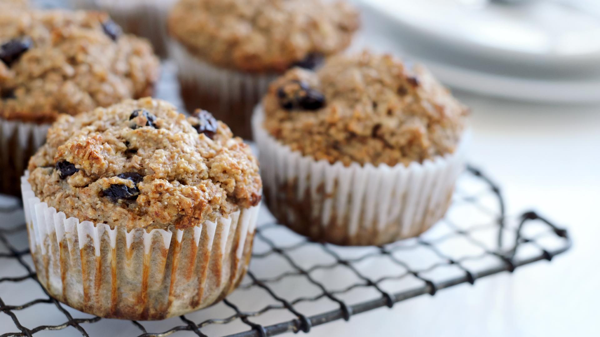 Buttermilk blueberry muffins